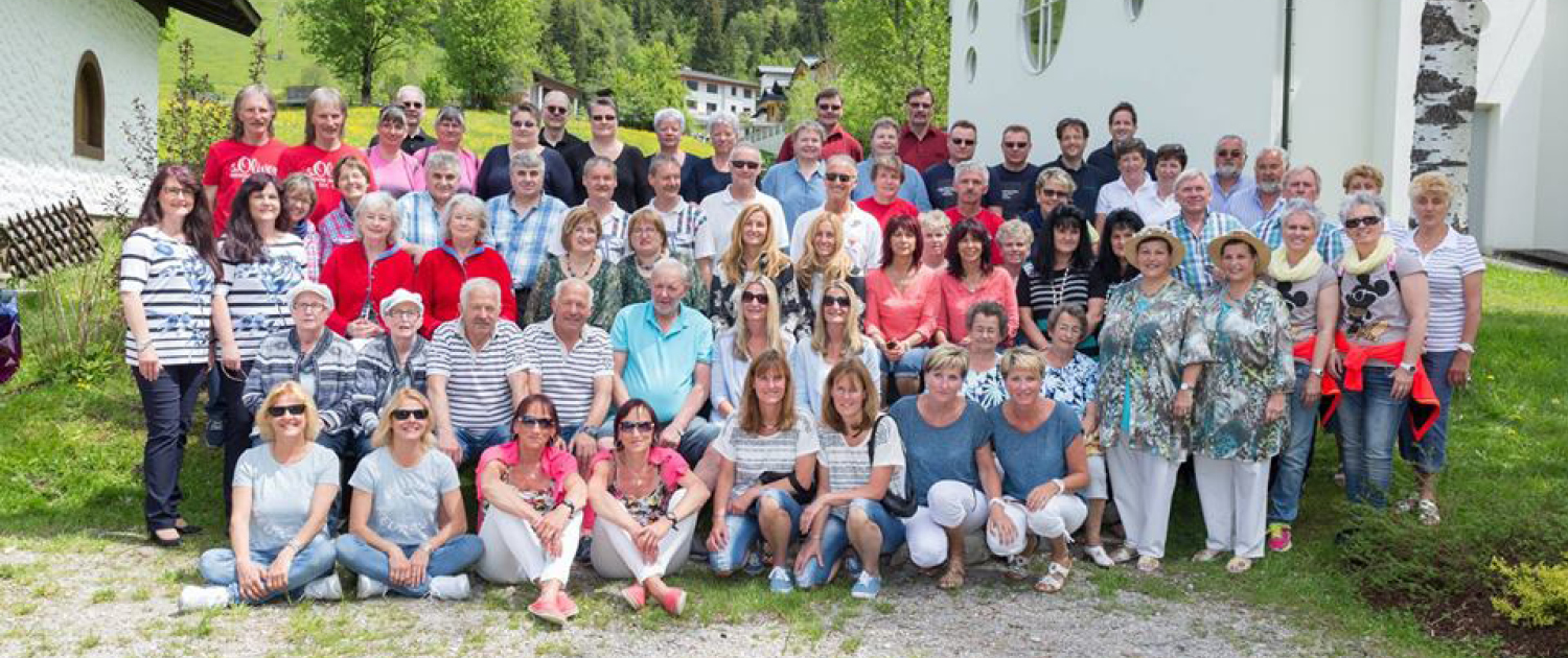 Internationales Zwillingstreffen 2016 Gruppenfoto