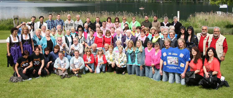 Internationales Zwillingstreffen 2013 Gruppenfoto